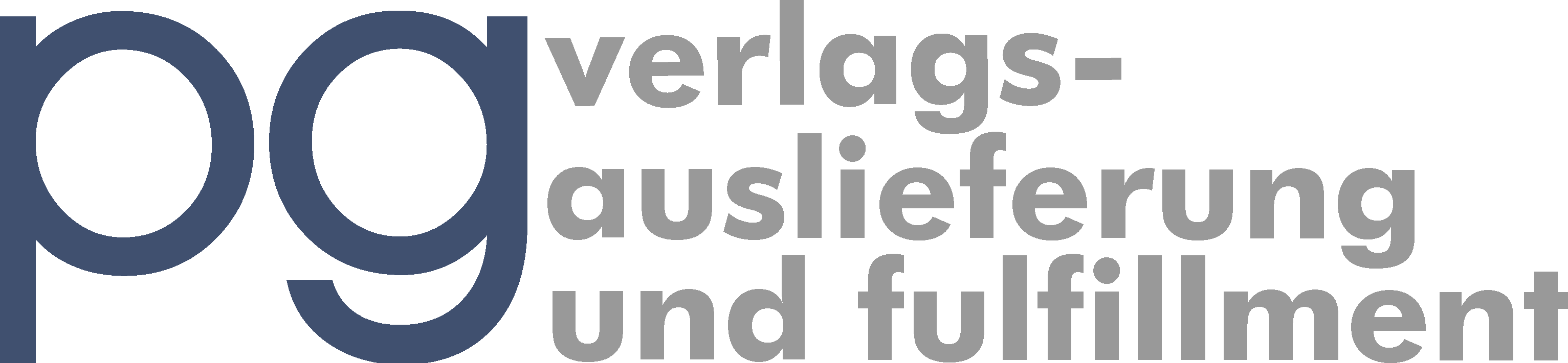 Logo pg verlagsauslieferung und fulfillment